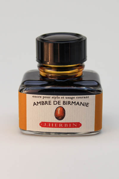 J. Herbin Ambre de Birmanie Ink - 30ml Bottle