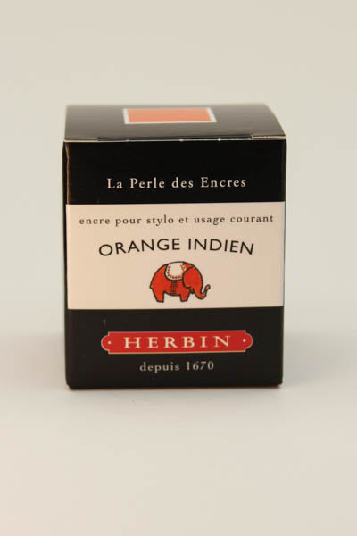 J. Herbin Orange Indien Ink - 30ml Bottle