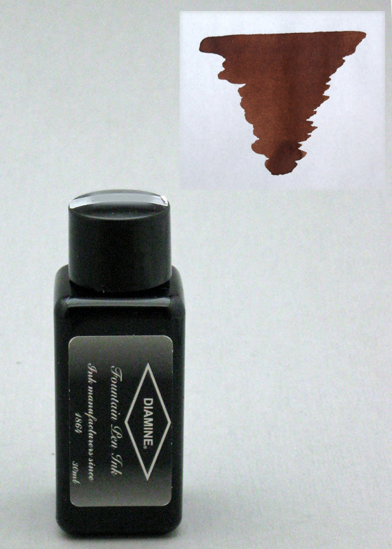 Diamine Saddle Brown Ink - 30ml Bottle