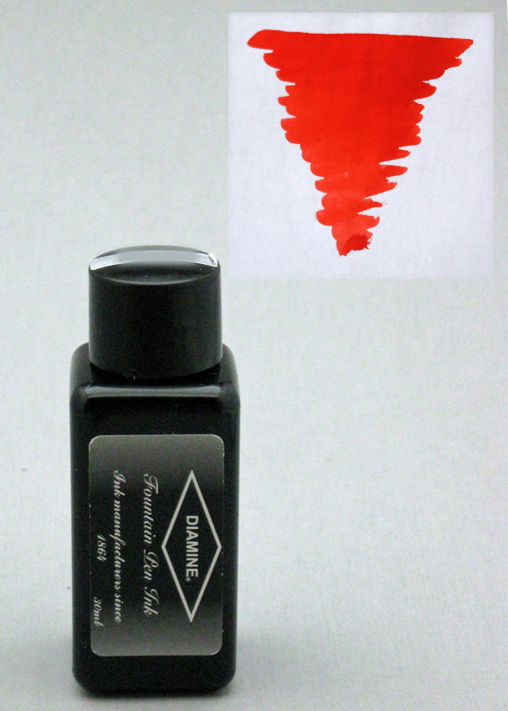 Diamine Wild Strawberry Ink - 30ml Bottle