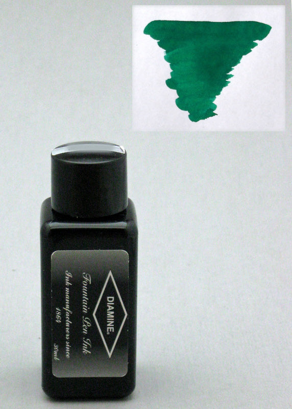 Diamine Woodland Green Ink - 30ml Bottle