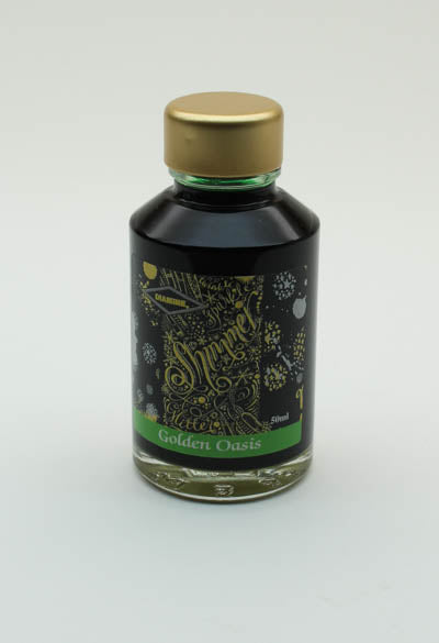Diamine Golden Oasis Ink 50-ml Bottle