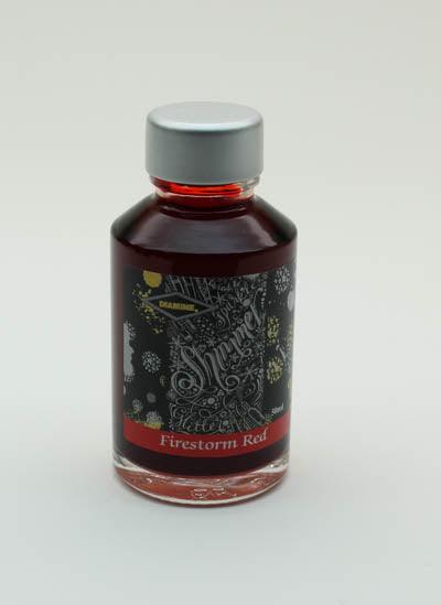Diamine Firestorm Red Ink 50-ml Bottle
