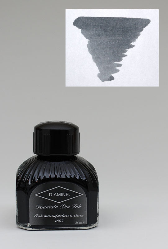 Diamine Grey Ink - 80ml Bottle