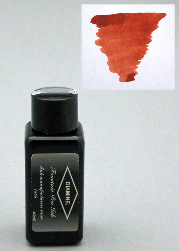 Diamine Burnt Sienna Ink - 30ml Bottle