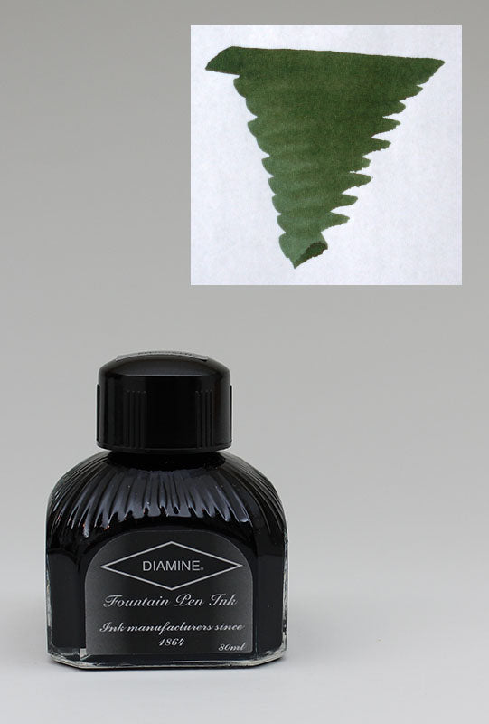 Diamine Evergreen Ink - 80ml Bottle