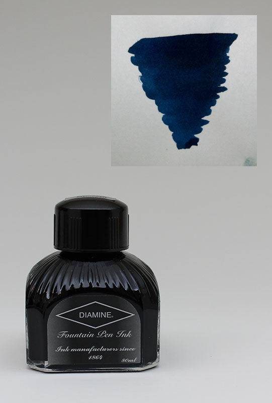 Diamine Blue/Black Ink - 80ml Bottle