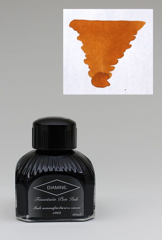 Diamine Sepia Ink - 80ml Bottle