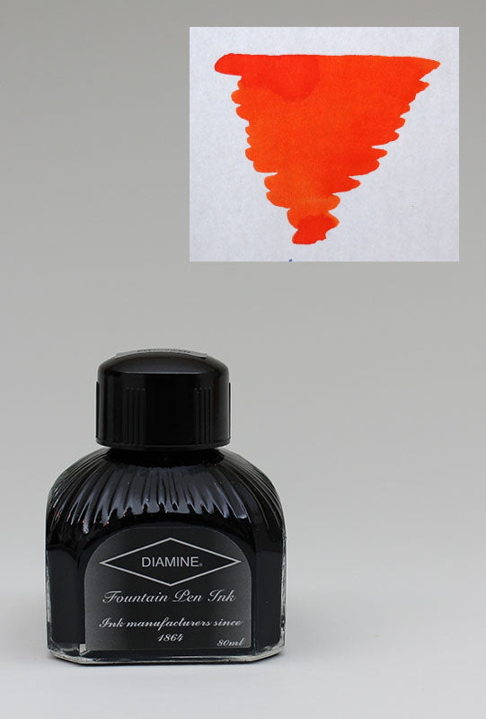 Diamine Pumpkin Ink - 80ml Bottle