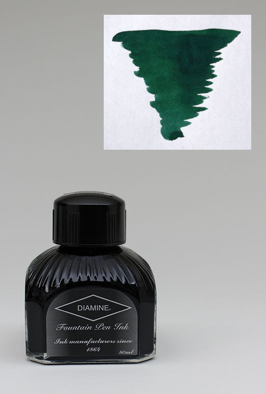 Diamine Sherwood Green Ink - 80ml Bottle