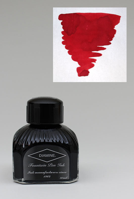 Diamine Red Dragon Ink - 80ml Bottle