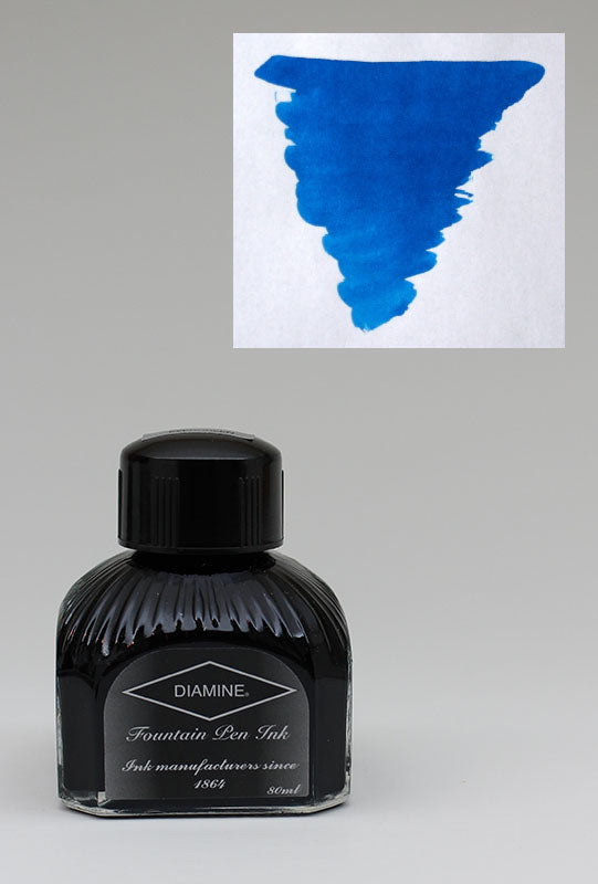 Diamine Asa Blue Ink - 80ml Bottle