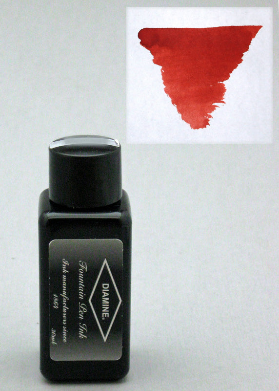 Diamine Monaco Red Ink - 30ml Bottle