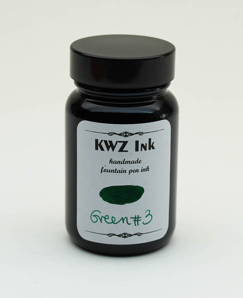 KWZ Green #3 Ink - 60ml Bottle