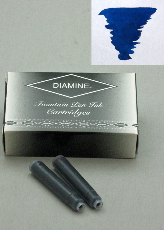 Diamine Majestic Blue Ink - Cartridges