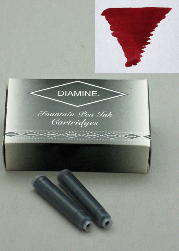 Diamine Oxblood Ink - Cartridges