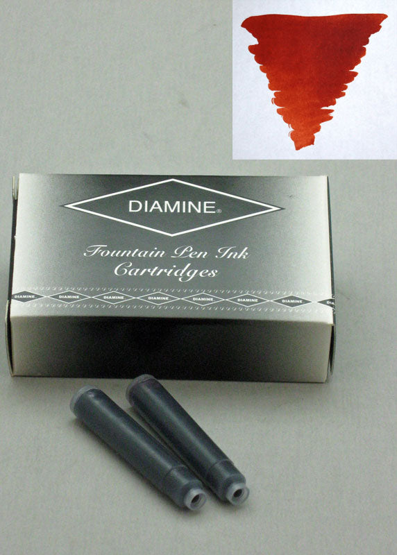 Diamine Ancient Copper Ink - Cartridges