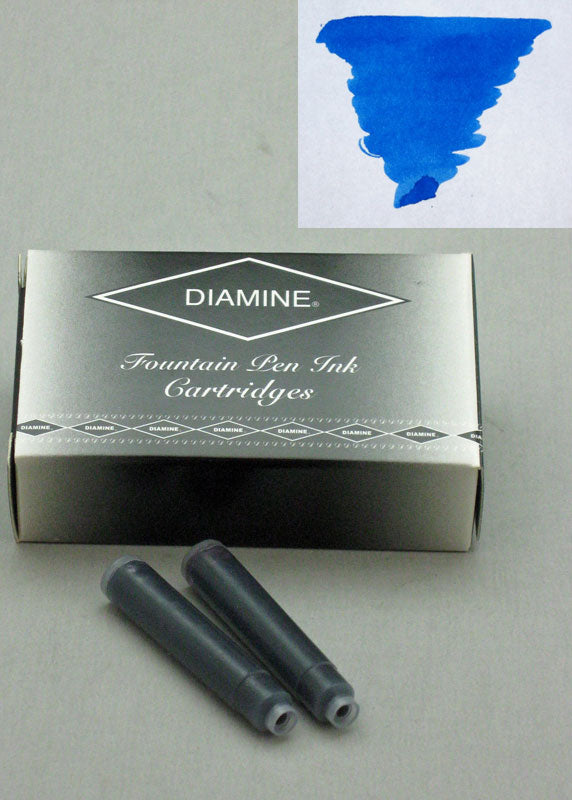 Diamine Royal Blue Ink - Cartridges