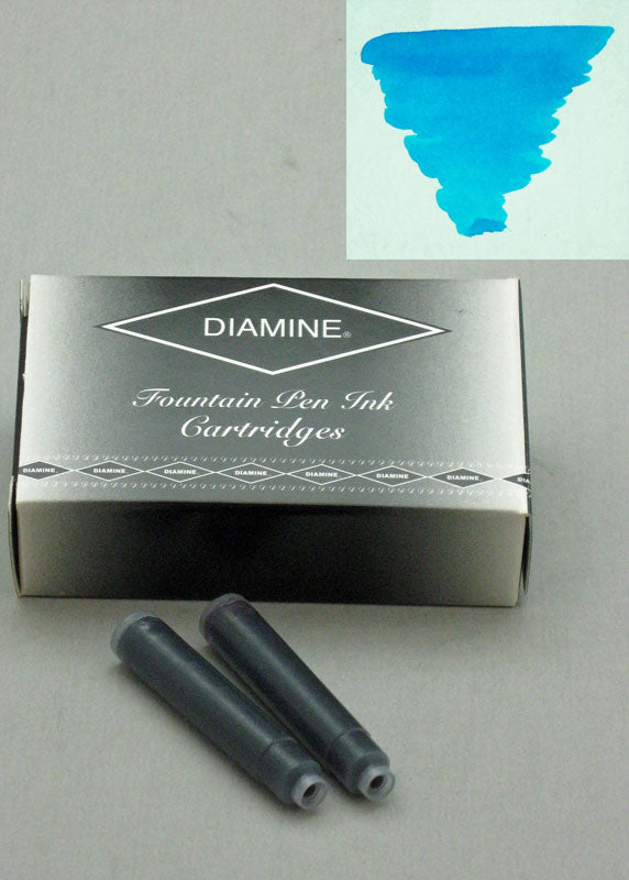 Diamine Turquoise Ink - Cartridges