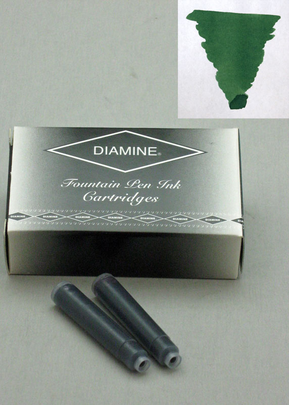 Diamine Emerald Ink - Cartridges