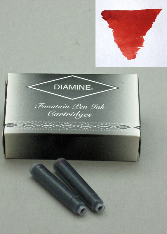 Diamine Monaco Red Ink - Cartridges