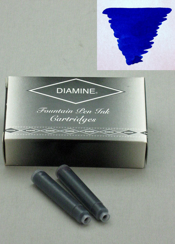Diamine Sapphire Blue Ink - Cartridges