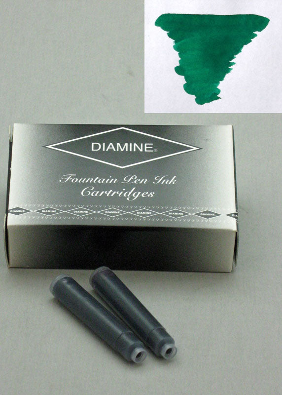 Diamine Woodland Green Ink - Cartridges