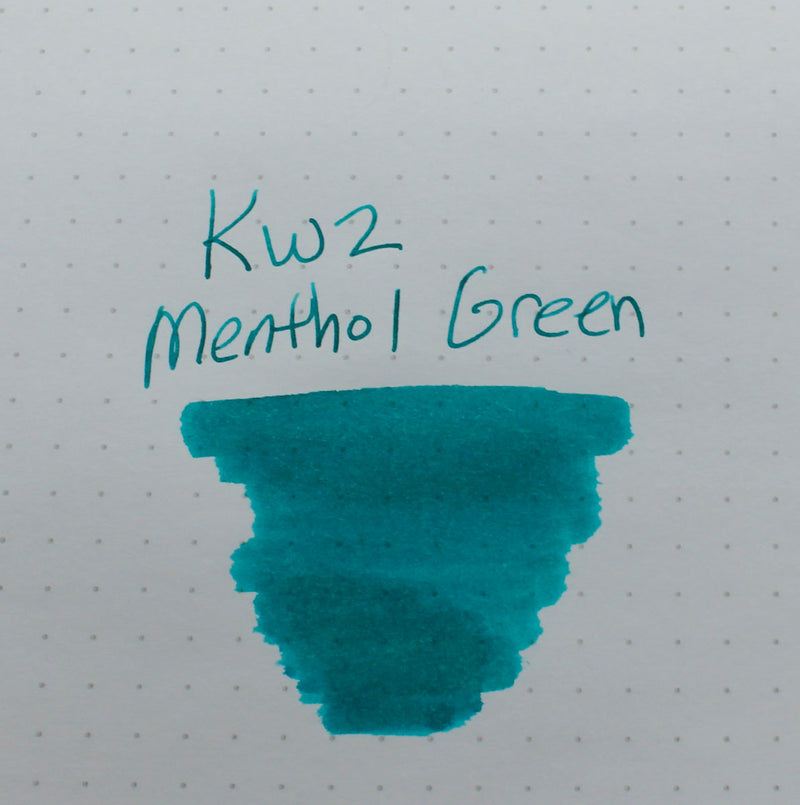KWZ Menthol Green Ink - Sample