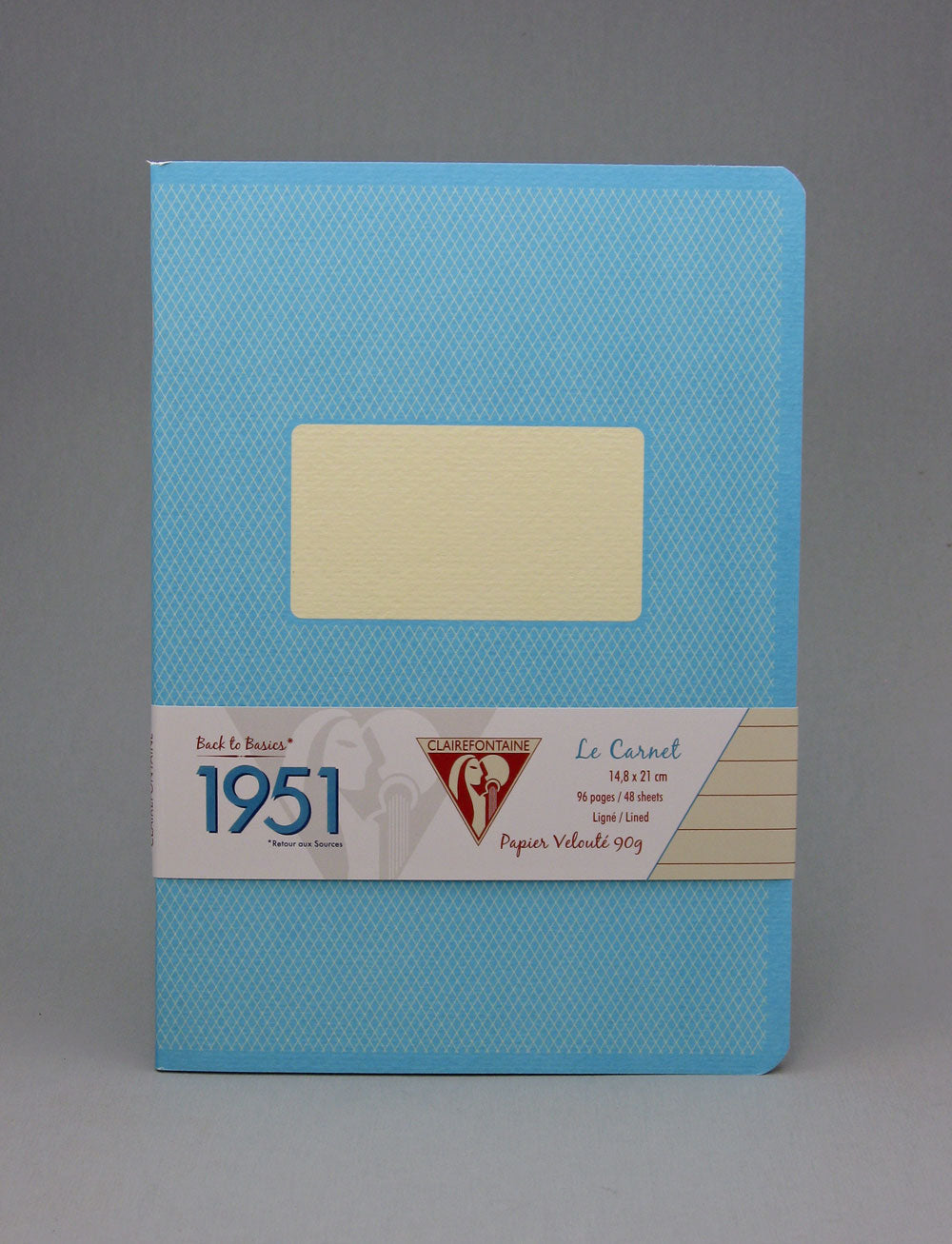 Clairefontaine 1951 Staplebound Notebook - Turquoise