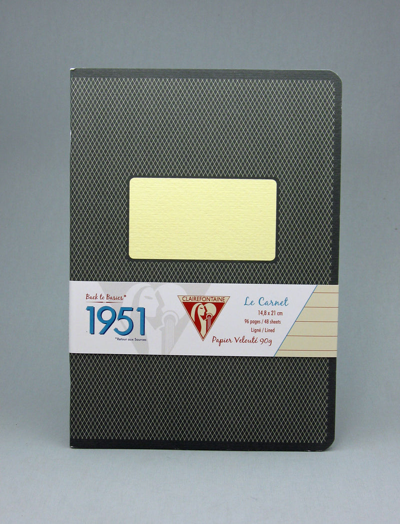lairefontaine 1951 Staplebound Notebook - Black