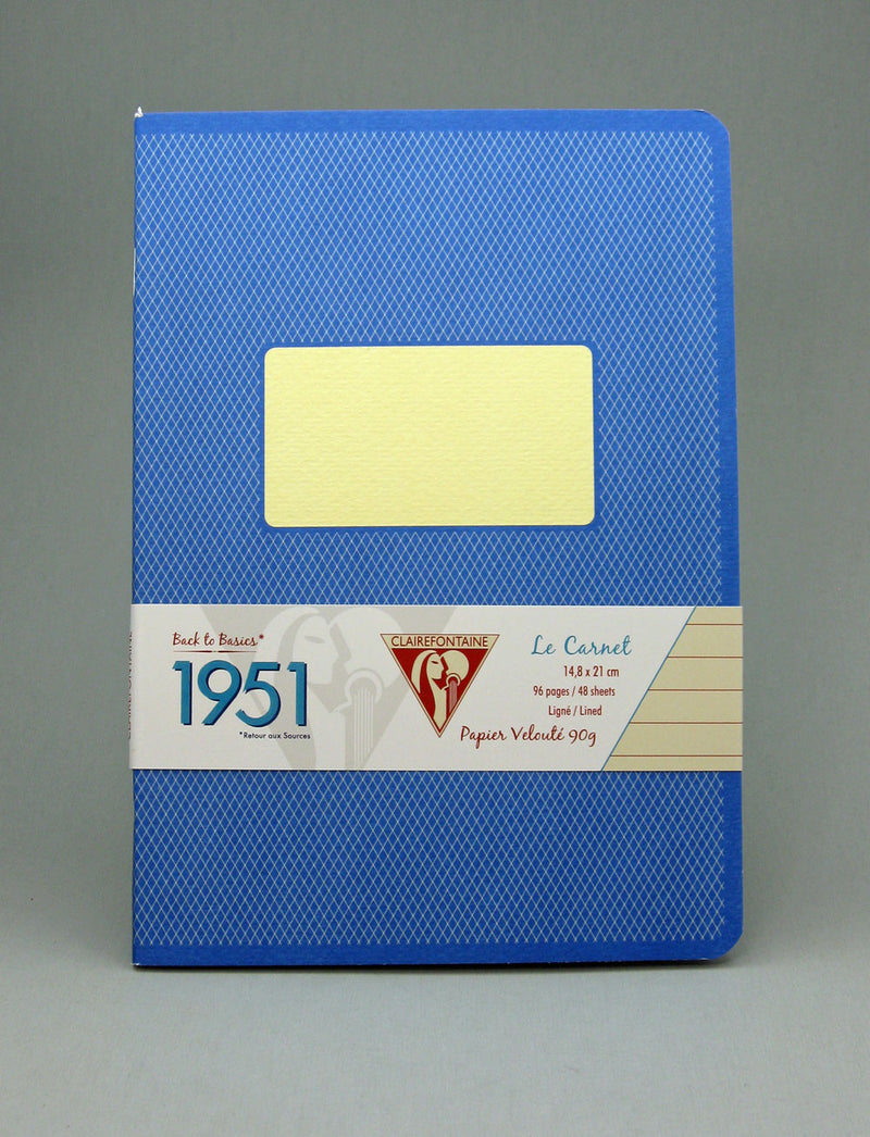 Clairefontaine 1951 Staplebound Notebook - Blue