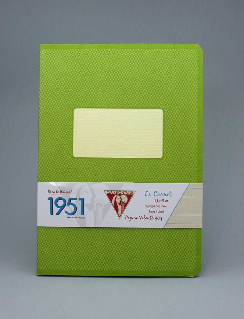 Clairefontaine 1951 Staplebound Notebook - Green
