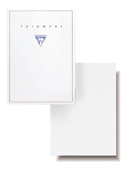 Clairefontaine Triomphe Stationery Pad - Blank