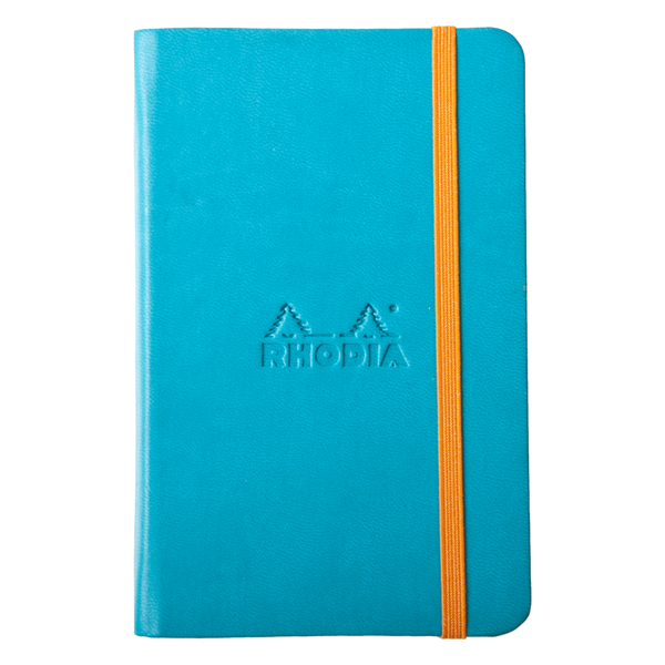 Rhodia A5 Rhodiarama Webnotebook Turquoise Lined 96 Sheets - 5 ½ x 8 ¼