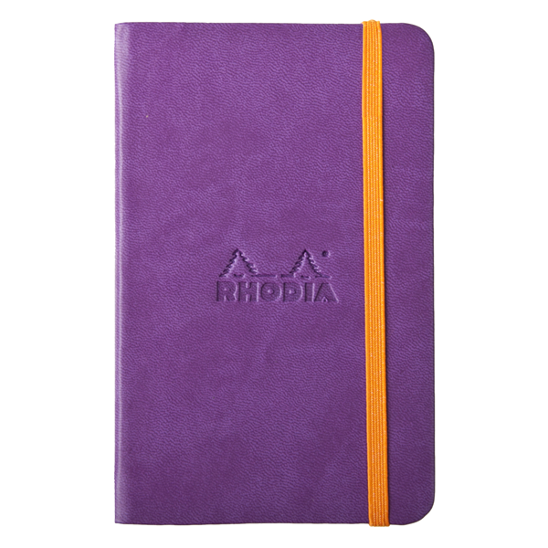 Rhodia A6 Rhodiarama Purple Lined 96 Sheets - 3 1/2 x 5 1/2