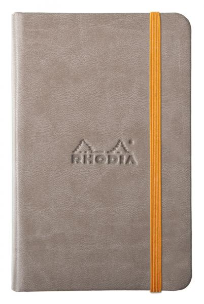 Rhodia A5 Rhodiarama Webnotebook Taupe Lined 96 Sheets - 5 ½ x 8 ¼