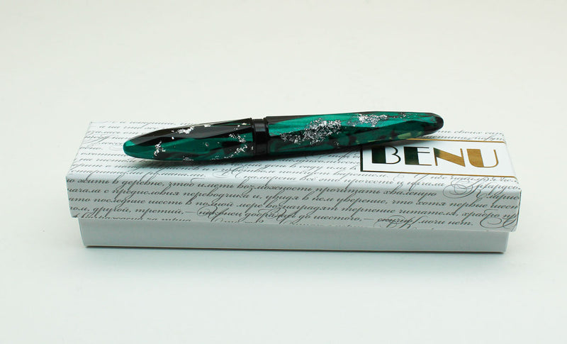 Benu Pen - Briolette Collection - Secret Garden Fountain Pen
