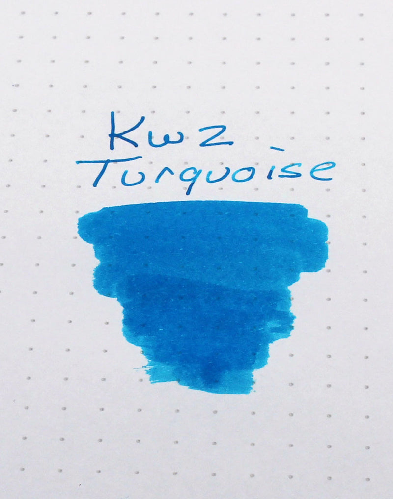 KWZ Turquoise Ink swatch
