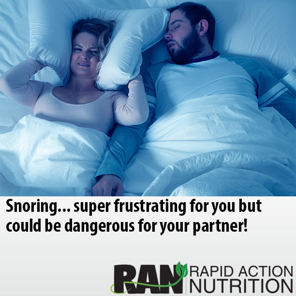 Snoring May Be Dangerous for Partner