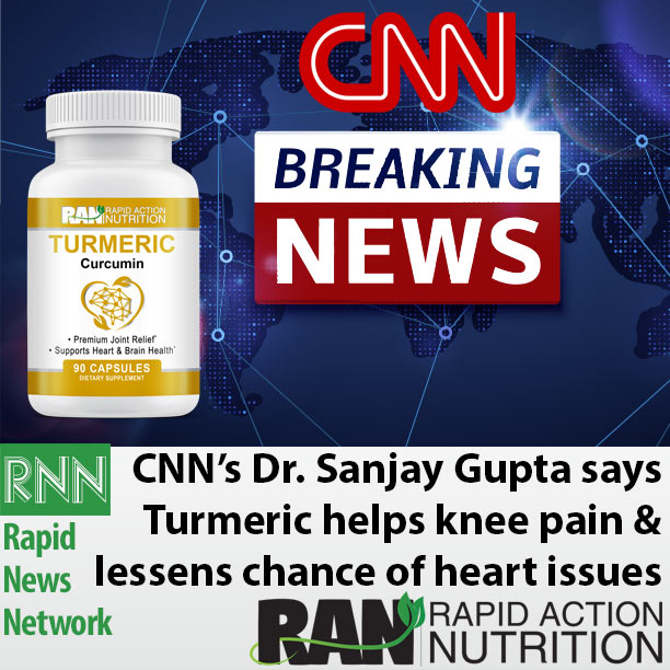 CNN: Turmeric Helps Knee Pain