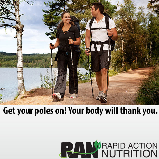 Walking Poles are Amazing!