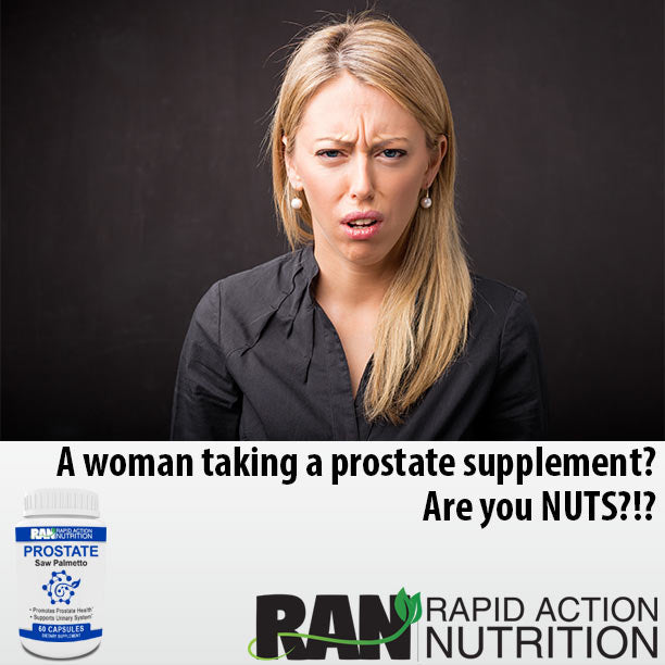 Women are Taking Prostate Supplements