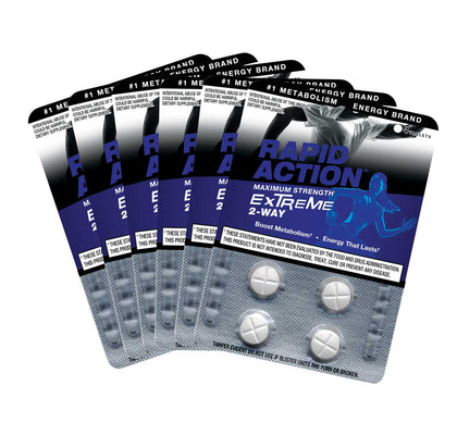 EXTREME Energy Pills - Fat Burning Supplement (24 Tabs)