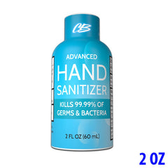 CB Protects Advanced 70% Ethyl Alcohol Hand Sanitizer - 2oz Bottle