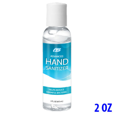 CB Advanced Hand Sanitizer 75% Ethyl Alcohol - 2oz Bottle