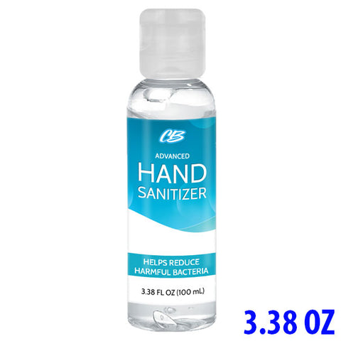 CB Protects Advanced 75% Ethyl Alcohol Hand Sanitizer - 3.38oz Bottle