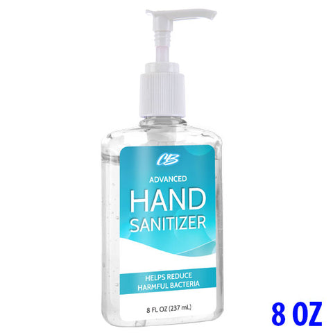 CB Protects Advanced 75% Ethyl Alcohol Hand Sanitizer - 8oz Pump Bottle