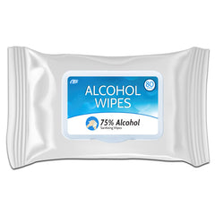 CB Protects sanitizing hand wipes contain 75% ethyl alcohol - 80 Count Pack