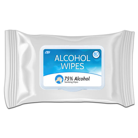 CB Alcohol Sanitizing Wipes 80 Ct Pk
