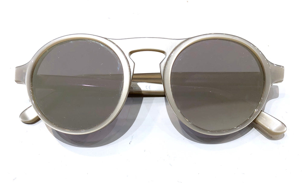 Westward Leaning Dayd Silver Frame & Lenses Sunglasses (f)